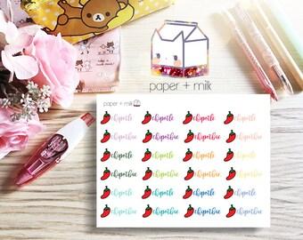 Chipotle = Chipotbae Planner Stickers