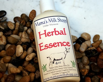 Goat Milk Lotion - Herbal Essences - Homemade Lotion - Farm Fresh Goats Milk