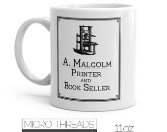 Outlander Coffee Mug - A Malcolm Printer and Bookseller - Saturday Morning Mug
