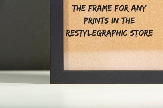 picture frame 8x10 framed print 12x16 frame 16x20 frame 18x24 black frame