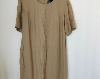 Camel Sack Dress