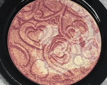 Strawberry Swirl Pressed Highlighter Face & Eye Highlight Powder