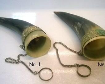 Horn / decoration / souvenir / hand made / gift horn / Caucasus/ Natural item