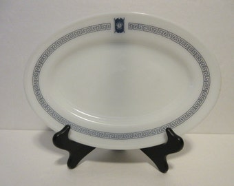 "Pyrex Platter made for ""Bradford House"" by Corningware Restaurant Advertising"