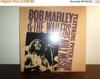 Save 30% Today Vintage 1977 Vinyl LP Record Early Music Bob Marley & The Wailers Near Mint Condition 8009