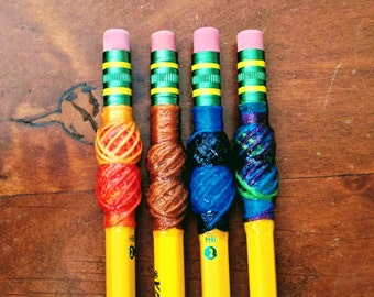 Double turban-wrapped bassoon pencils
