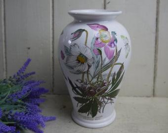 Vintage Portmeirion Vase - Botanical Pattern