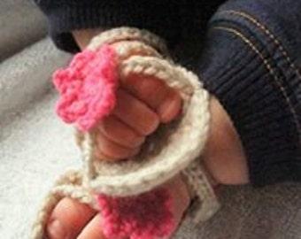 Baby Flower Sandals
