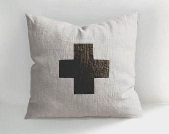 Decorative Pillows With Crosses : Decorative cross Etsy