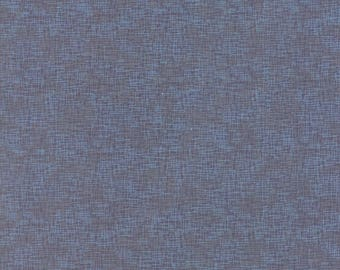 True Blue - Grid Steel 162614 - 1/2 yard