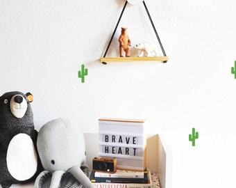 Wall Decal - Tiny cactus - Wall Sticker - Room Decor