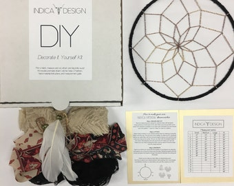 Dark Sahara DIY Dream Catcher Kit
