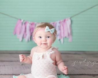 """Girl Sitter Romper - """"Layla"""" Ivory Sitter Size Romper, Overalls, baby girl, photo prop, lace newborn outfit"""