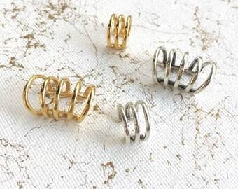 Janna Conner Ear cuff / Vermeil Ear Cuff / Minimal Earring / Minimal Ear Cuff / Jewelry Gifts / Hypoallergenic Earrings / Gifts for Her