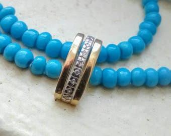 Gold + Diamond Necklace Pendant