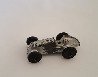 Vintage Midgetoy Indy racer, metal with rubber wheels, 1 1/2""