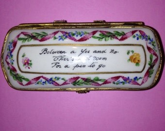 Le Tallec, Tiffany and Co. PRIVATE STOCK, Limoges porcelain trinket box