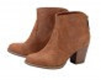 items similar to brown boots camel color flat heel