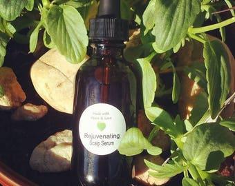 Rejuvenating Scalp Serum, Hair Growth Serum, Dry Scalp Serum, Healthy Hair Serum
