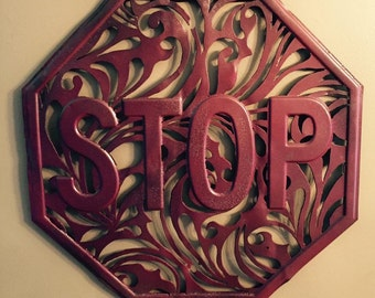Victorian stop sign