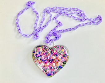 Resin Star Wars Inspired Pastel Kawaii Necklace