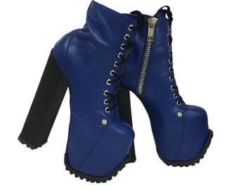 Dungeon Lace-Up Boots