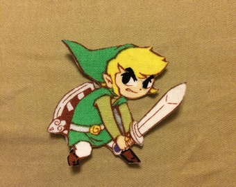 Legend of Zelda Link Appliqué