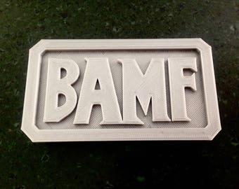 BAMF belt buckle