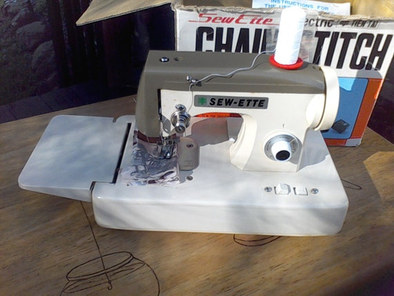 chain stitch sewing machine instructions