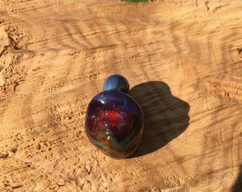 Face Pendant by Snodgrass Glass