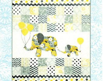 MOMMY & ME  Baby or Child Quilt Pattern   Full Size Applique Patterns Included - Boy or Girl Version  By:  Colette Belt- QP1401