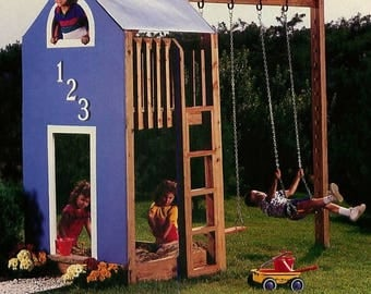 A Kids Retreat Playhouse And Club Woodworking Plans