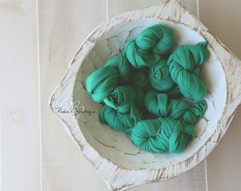 READY TO SHIP, newborn wrap, newborn stretch wrap, stretch wrap, newborn wraps, photography prop, newborn prop, knit wrap, green wrap