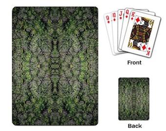 Playing Cards: Marijuana Themed Playing Cards Tangerine Dream Marijuana Print, Cannabis Cards, Marijuana Cards - Made to Order