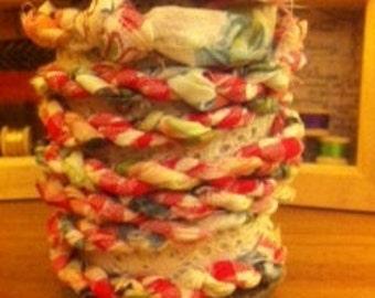 Fabric Twine Handmade Twisted Yarn