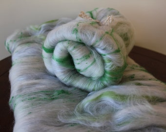 Spearmint Spinning Fibre Batt