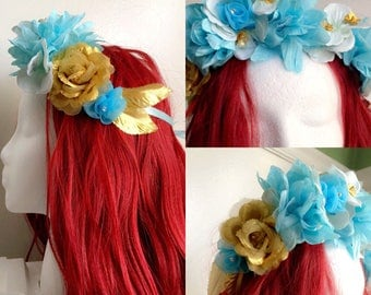 The carpet princess inspired flower crown