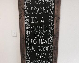 LARGE chalk board