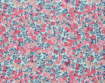 Liberty of London Tana Lawn Wiltshire  in Pink -- 1/4 Yard