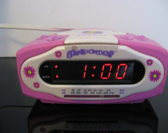 Vintage Emerson - Girl Power Alarm Clock Radio