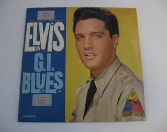 Original Pressing - Elvis Presley - G.I. Blues Soundtrack - Circa 1960