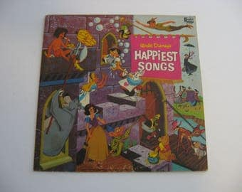 Walt Disney - Happiest Songs - Circa 1967