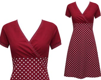 Dress Nelly dots allover in many colors