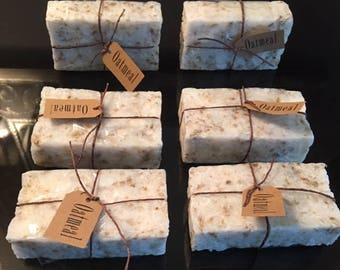 Home-made Organic Oatmeal Soap