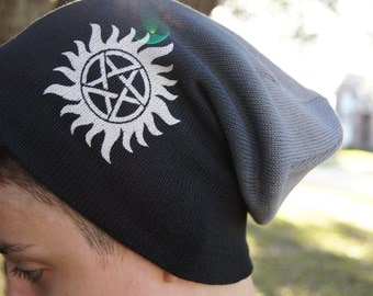 Supernatural Beanie -  Antipossession Slouchy Beanie
