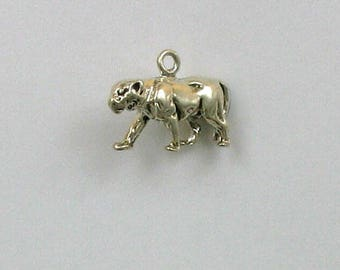 Sterling Silver 3-D Panther Charm