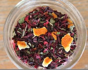 Organic Hibiscus Tea/High Vit C