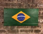 Brazilian Flag, Brazil, Brazilian Flags, Vintage Brazil, Flag of Brazil, Flags, South American Flags, Brazilian Art, Art, Chicago Brazil