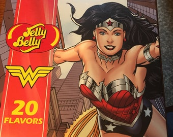 Jelly Belly 20 Flavors Wonder Woman Gift Box