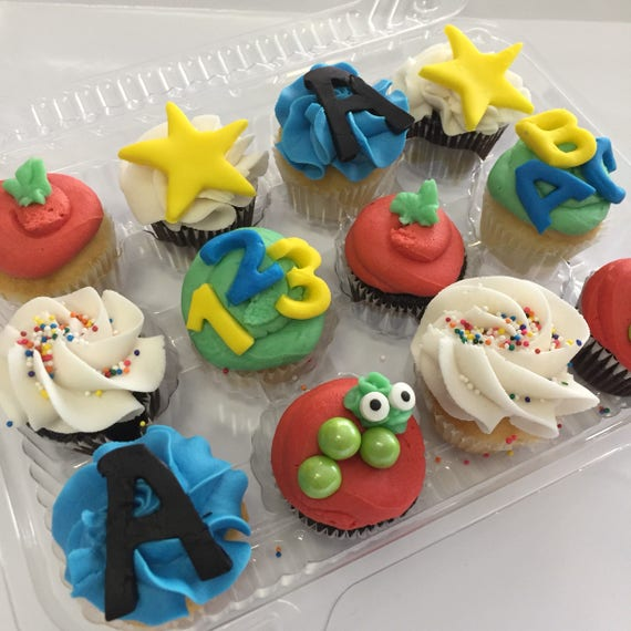 Back to School Cupcake Sampler (Pick Up Only)